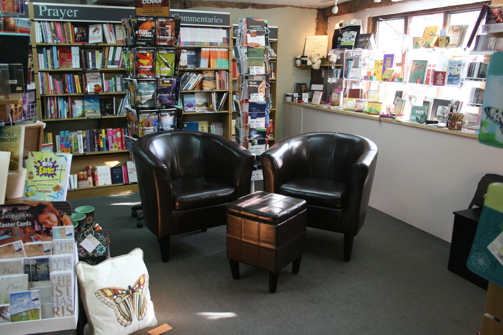 Seating in Bookshop