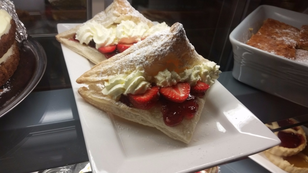 Strawberry Turnover
