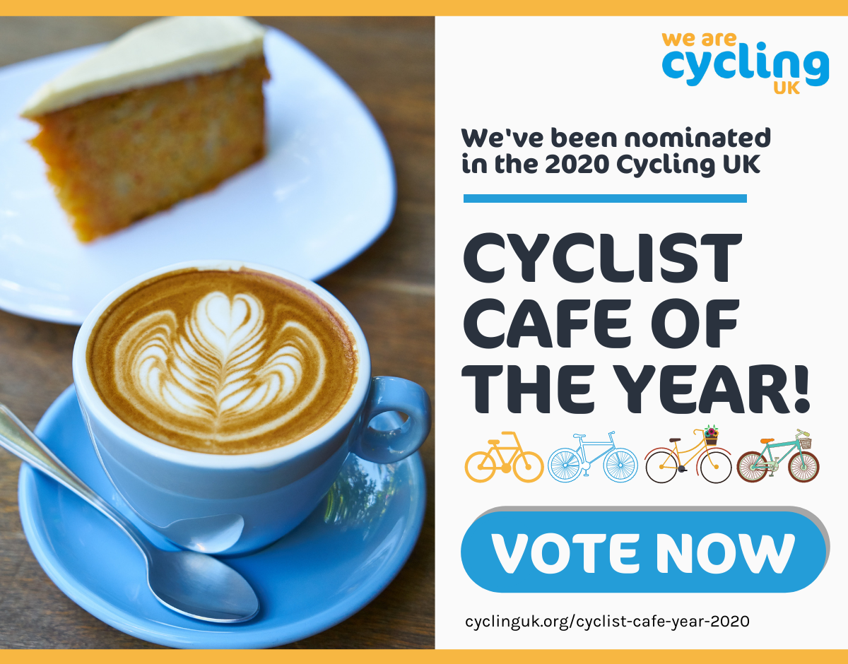 Cyclist Cafe of the Year Nomination